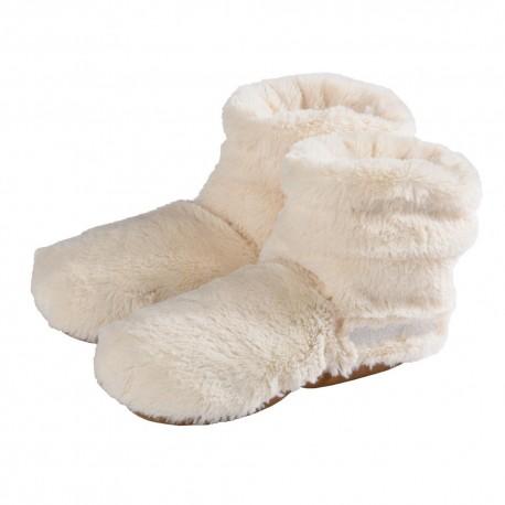 Slippies® Deluxe creme Plush (M)